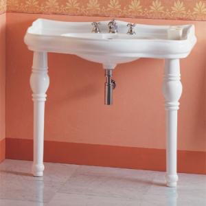 Kerasan Retro Noga ceramiczna do umywalki, biała 1083 (1)