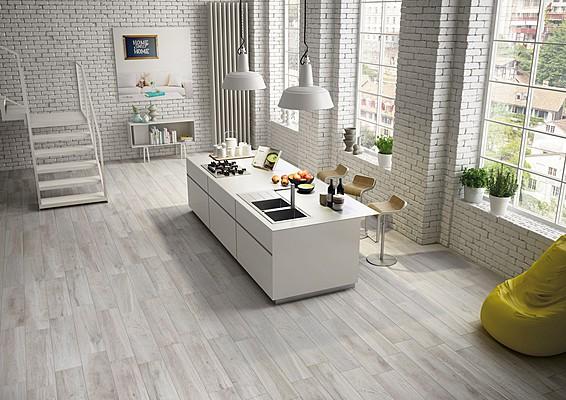 Gres century cottage selva 23x100 matikar salon - Suelos de gres para cocinas ...