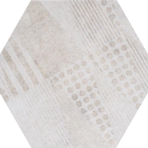 WHITE FREEPORT HEXAGON 1