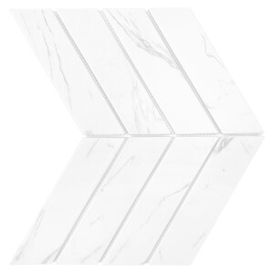 Dunin Royal Chevron Carrara Matt