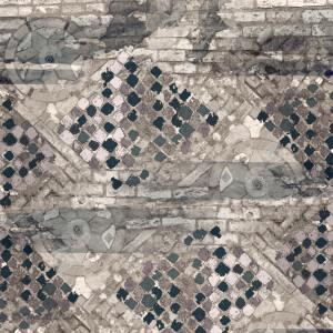 Tapeta Ceramiczna ABK Wide & Style Pop Bologna Blu Rtt. 60x120 cm gres