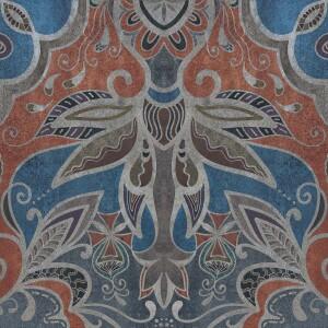 Tapeta Ceramiczna ABK Wide & Style Carpet Grey Rtt. 60x120 cm gres