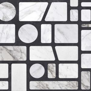 Tapeta Ceramiczna ABK Wide & Style Pop Incertum Light Rtt. 60x120 cm gres