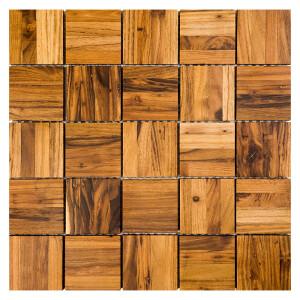 Mozaika drewniana Dunin Etnik Chevron Amberwood 64