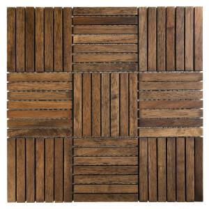 Mozaika drewniana Dunin Etnik Chocolate Oak 110