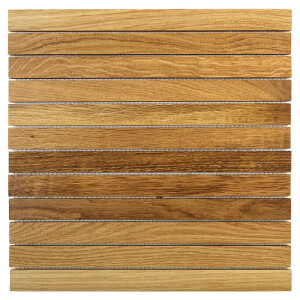 Mozaika drewniana Dunin Etnik Chevron Oak LI