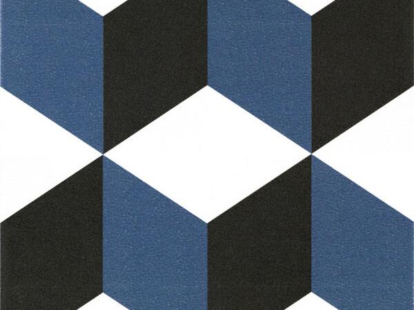 Gres Kerion Neocim Plus Cubique Bleu 20x20