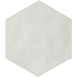 CIR Materia Prima Hexagon Cloud White 24X27,7 cm