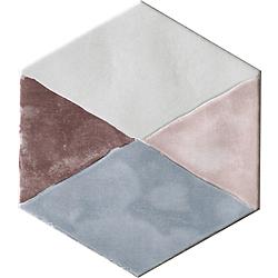 CIR Materia Prima Inserto Rainbow Mix Esagona 24X27,7 cm