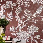 Serenissima Chromagic Floral Bordeaux RTT. 60×120 cm 1074172