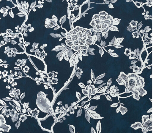 Serenissima Chromagic Floral Blue RTT. 60x120 cm 1074171